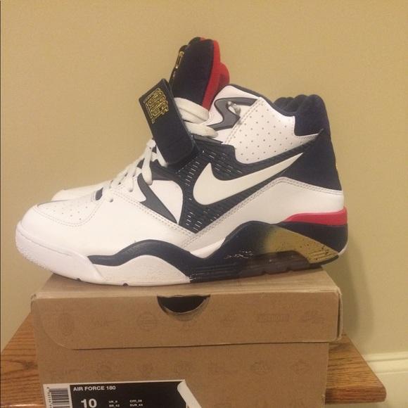 size 40 bfb99 daf3e Nike Air Force 180 Barkley Olympic Size 10. M 5b2b0d818ad2f98a53ccaf18